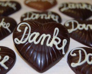 Gastgeschenke aus Schokolade