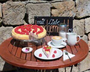 Terrasse Cafe Pralinenherz