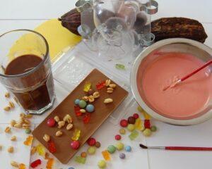 Kindergeburtstag feiern mit Pralinenherz